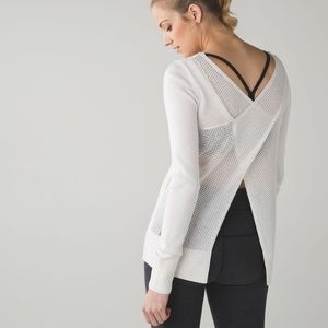 Worn once! Lululemon Sunset Savasana sweater